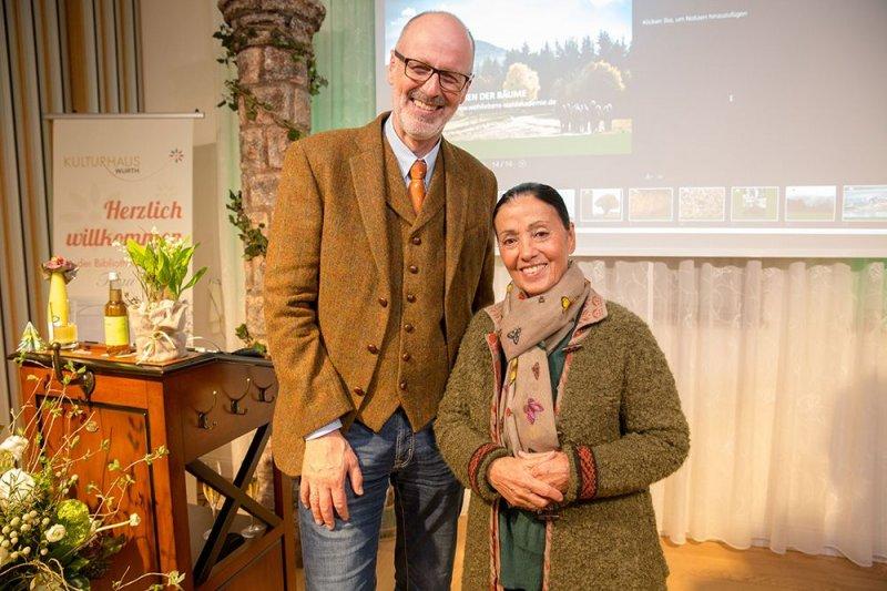 Carmen Würth & Peter Wohlleben
