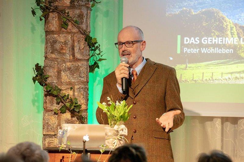 Peter Wohlleben Vortrag am 10.04.19