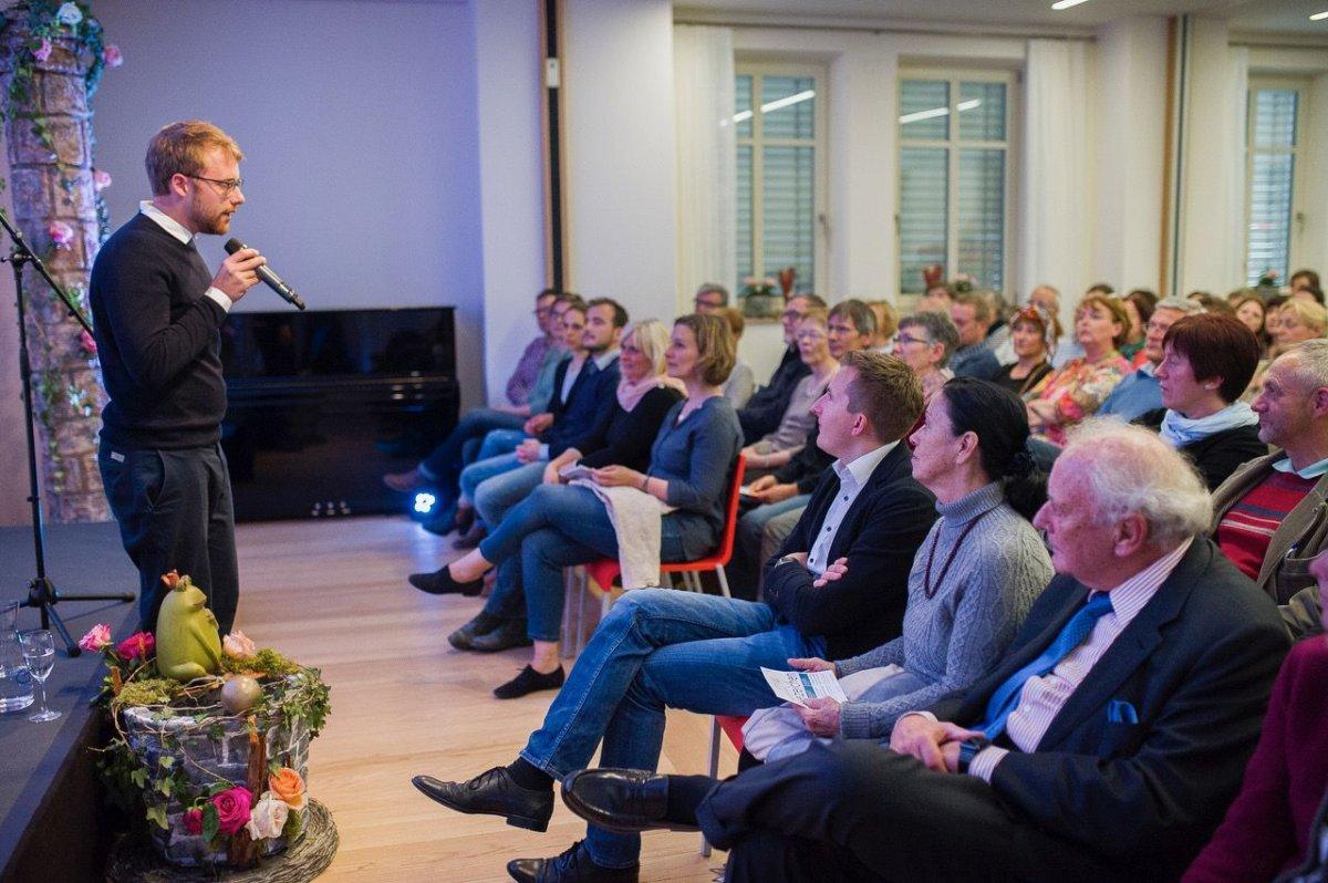 Eröffnungswoche: Der Poetry-Slam-Meister Lars Ruppel im Kulturhaus