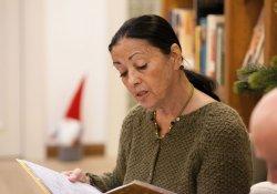 Vorlesestunde zum Nikolaustag mit Carmen Würth