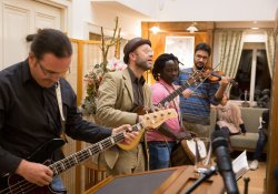 "Die Calypso-Band ""Calaloo"" live im Kulturhaus"