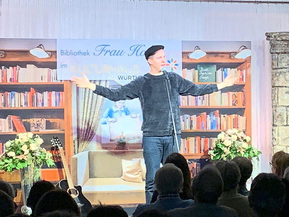 Sebastian 23 am 26.01.19 im Poetry Slam Abend