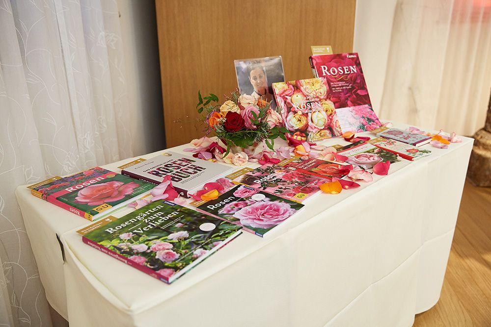 Bücher zur Rosenzucht